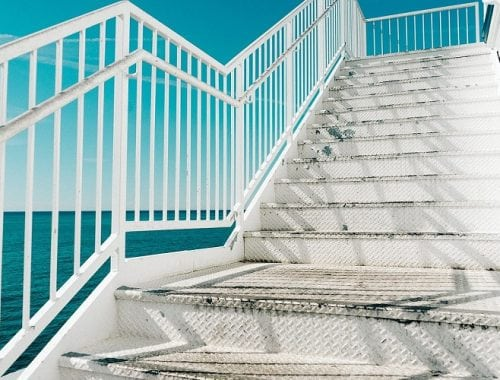 content stair to succes